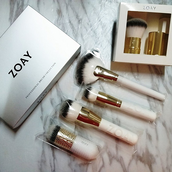 【 博客主場 】【♥ ZOAY ♥】性價比高化妝掃。香港的化妝掃品牌 by Bee